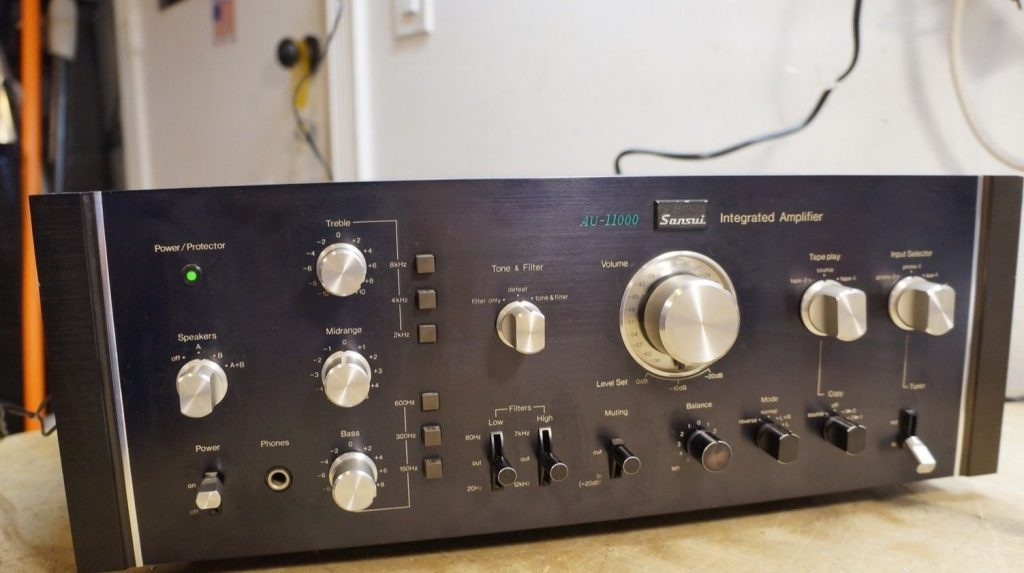integrated amp